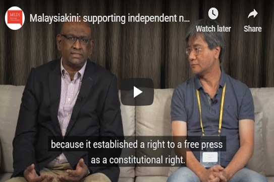 Malaysiakini: Supporting Independent News in Malaysia