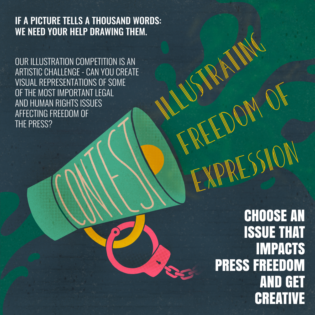 Illustrating Freedom of Expression Competition