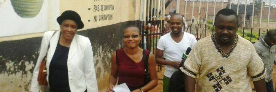 In Rwanda, we helped free two journalists from jail