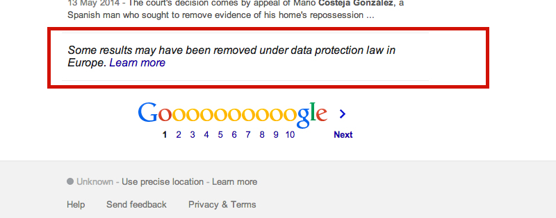 """How Far Does the """"Right to be Forgotten"""" Extend? Crucial Case Referred to Court of Justice of the European Union"""