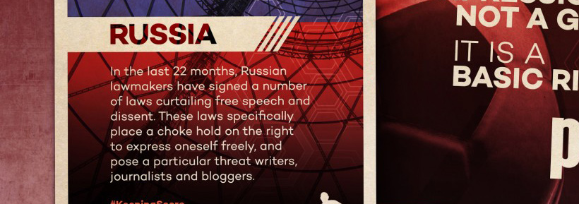 Focus on: Press and Net Freedom in Russia