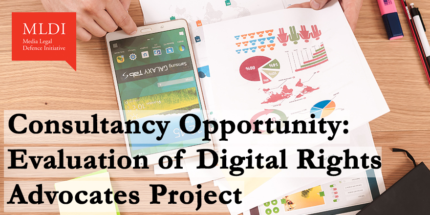 [NOW CLOSED] Call for Consultants: Independent Evaluation of Digital Rights Advocates Project