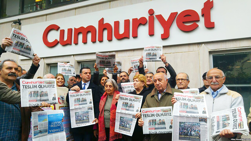 European Court Finds Turkey Violated Cumhuriyet Journalists' Rights to Liberty and Security, Freedom of Expression, Detained in the Crackdown Following July 2016 Coup